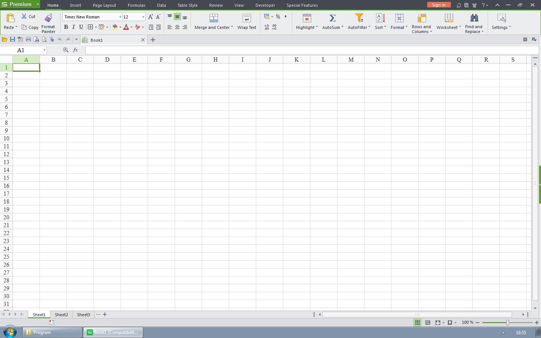 Spreadsheets WPS Office